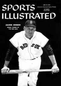 Jackie Jensen: MVP American Baseball Player in the Bay Area Sports Hall of Fame and the Boston Red Sox Hall of Fame